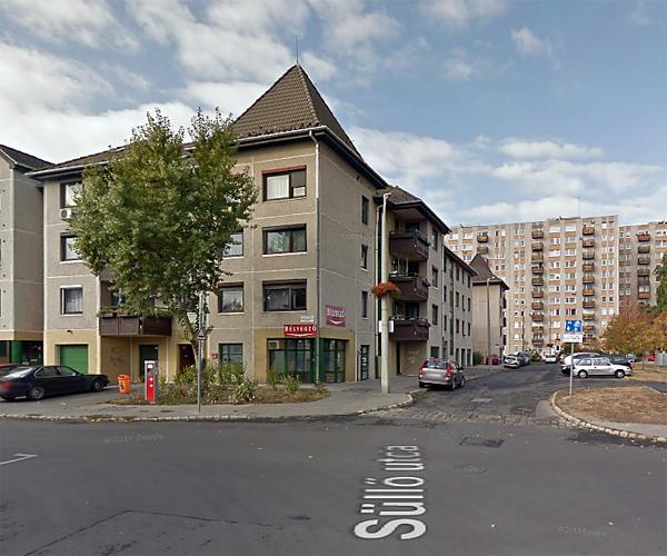 Bélyegző bolt utcai kép